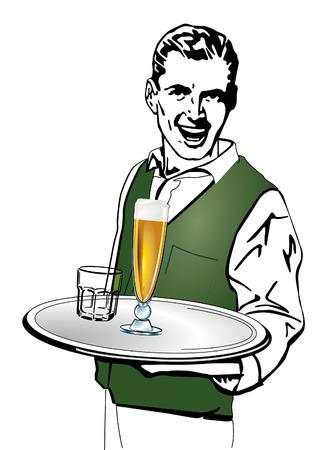 waiter Zdjęcie Seryjne - 6630245