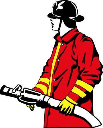 smoke alarm:  firefighter