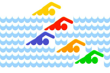 146 038 swimming stock vector illustration and royalty free swimming rh 123rf com swimming clipart free synchronized swimming clipart free