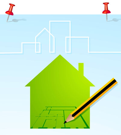 home planning Stock Vector - 6630500