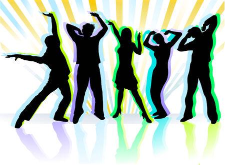 the next dance  Stock Vector - 6630507