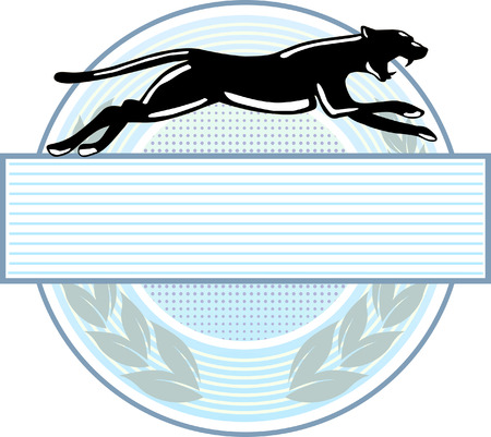 signet: panther emblem