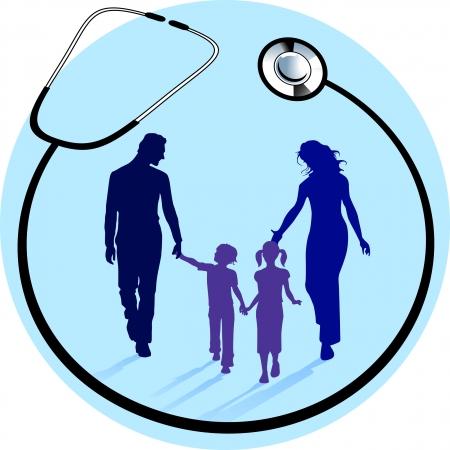 gezondheidsfonds Vector Illustratie