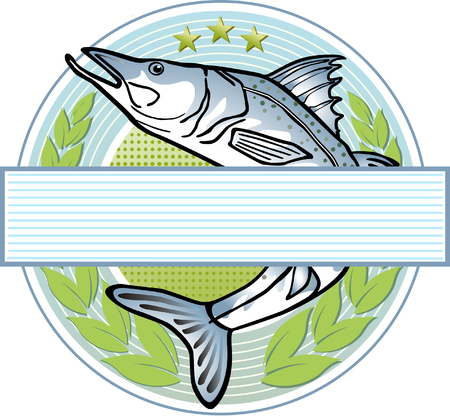 pike:  fisherman logo