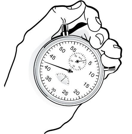 chronom�tre: contr�le du temps  Illustration