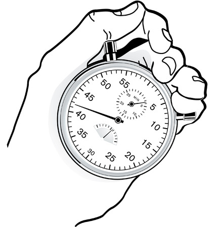 timer: to time check  Illustration