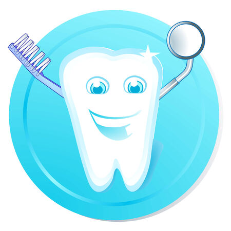clean tooth Stock Vector - 6823777