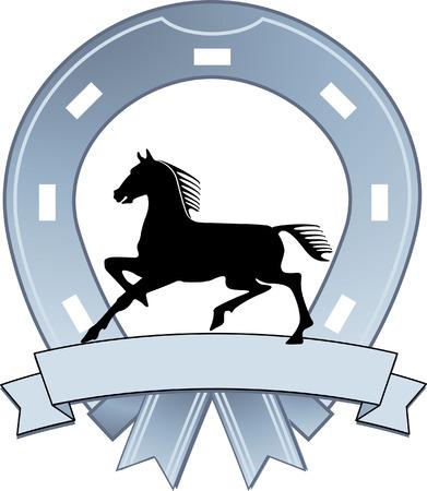blasone: segno di ferro di cavallo