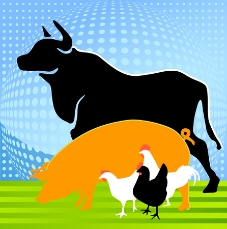 breeding:  Animal Farm  Illustration