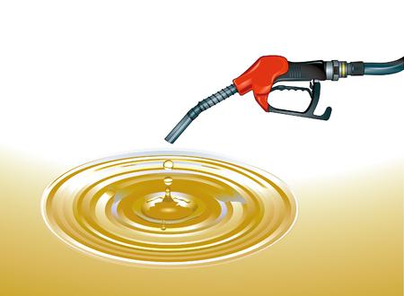 crude oil: crude oil  Illustration