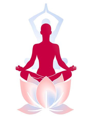 Yoga Lotus Stock Vector - 6952207