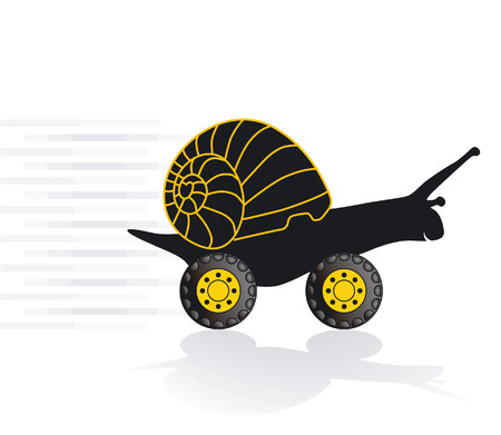 quickie snail  Vector