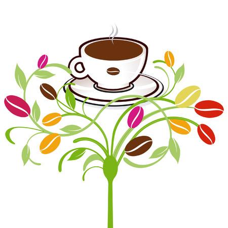 coffee-plants Vector