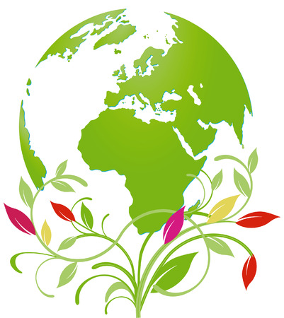 world natural heritage Vector