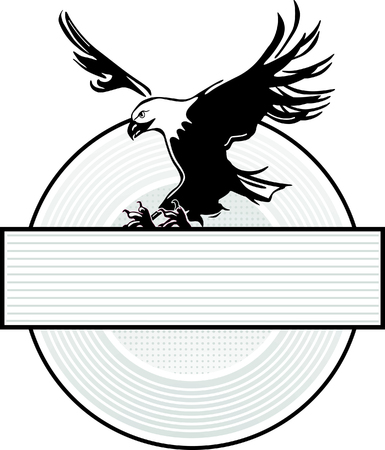 orzeł: Rozprowadzić Wing Eagle Insignia