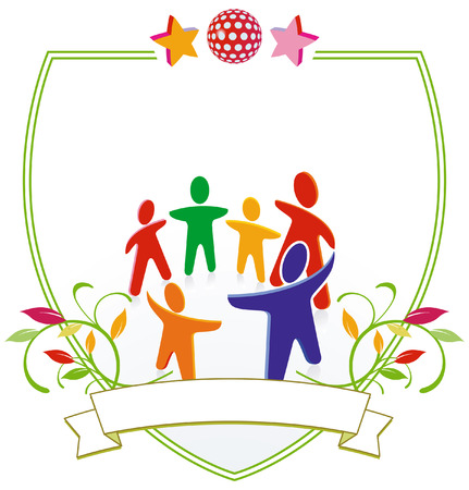 kindergarten sign Stock Vector - 6952393