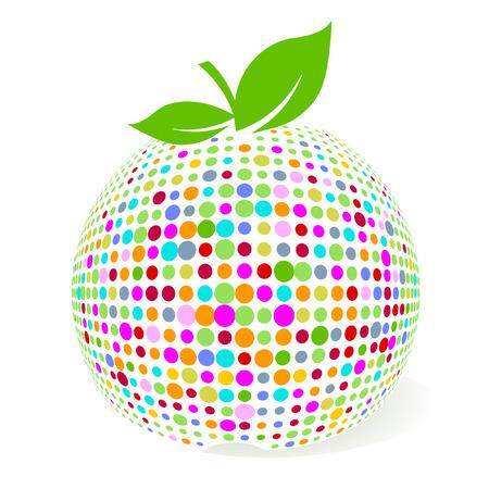 colorear de manzana  Foto de archivo - 7006642