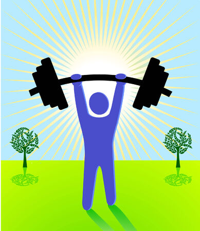 vigorous: weight lifting