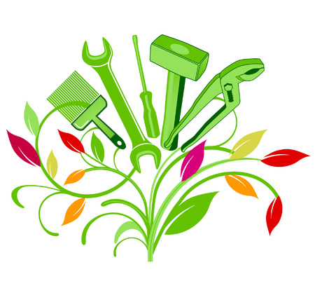 ecologically: bouquet of tool