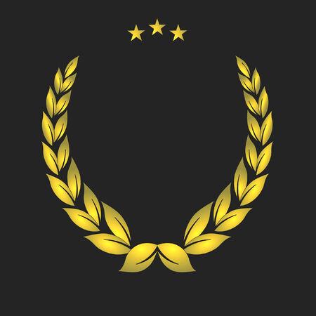 honours: golden crest Illustration