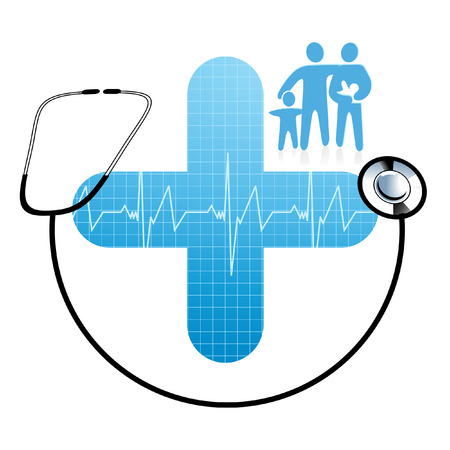 Family health care Illustration