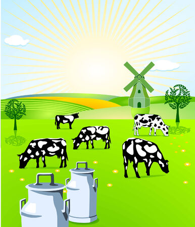 ecologically: dairy farming