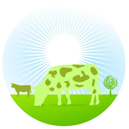 greening: greening cow
