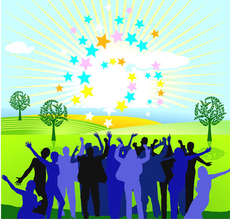 encore: to jubilate with sun and stars