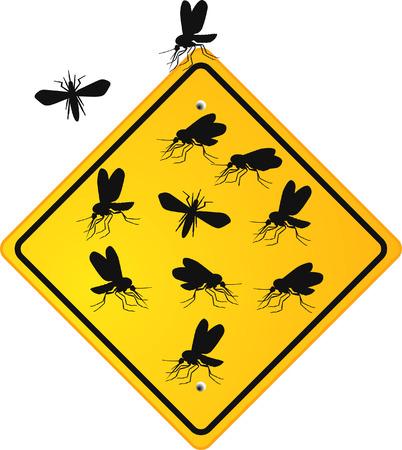 yellow attention: mosquito midge