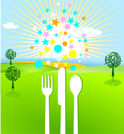 picknick and event Stock Vector - 7539838