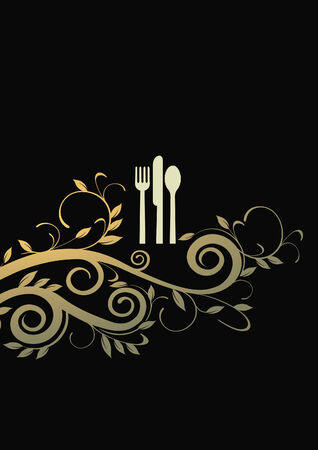 a la cart dining Stock Vector - 7623453