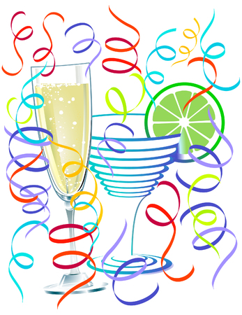 applause: Cocktail Party Illustration
