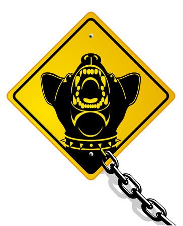 dog bite: cane da guardia pericolose