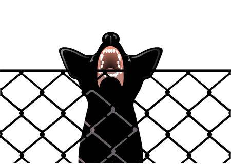 vicious: vicious dog Illustration