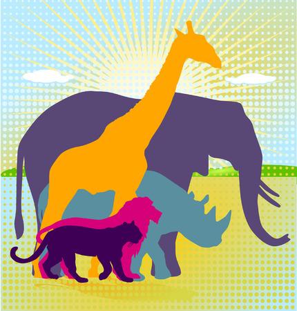 アフリカの動物の王国