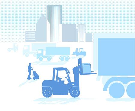 shipper: Logistic Illustration