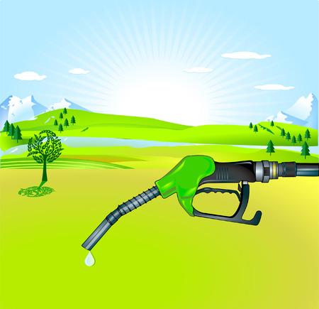 biodiesel: bio-diesel Illustration