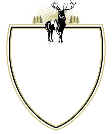 deers: forester emblem