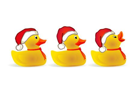 squeak: x-mas duckling
