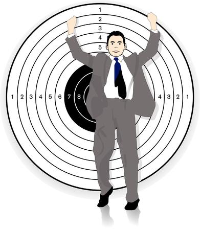 no target Stock Vector - 7909626