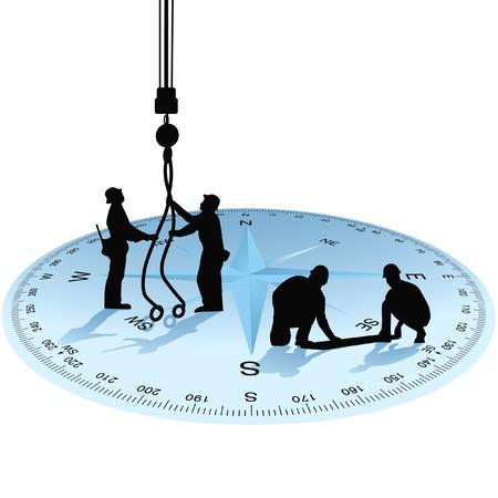 jobsite: construction, job-site inspection