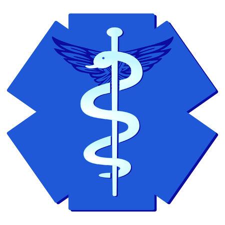 asclepius: medicine pharmaceutical sign
