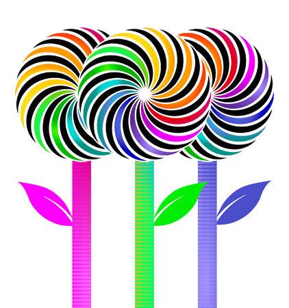 lolli: Flower- lolly