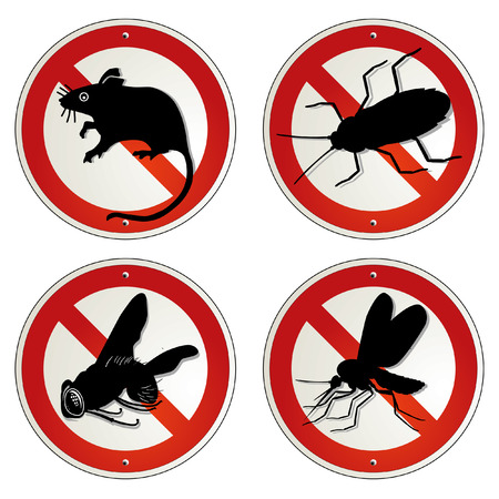 mosquitos: vermin bugs Illustration