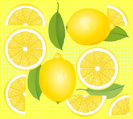lemon slices: Lemon