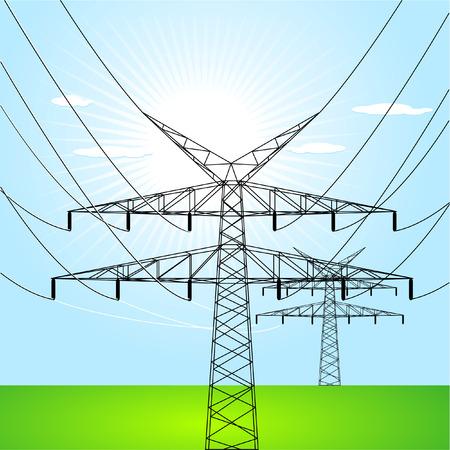 contador electrico: torres el�ctricas