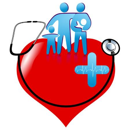 gezondheidszorg teken