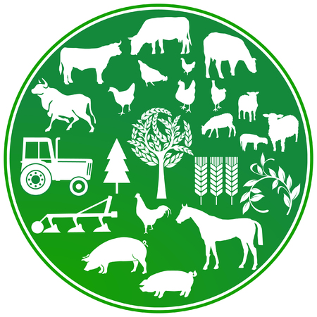 ecologically: farming agriculture sign