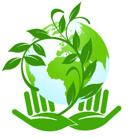 eco-label Stock Vector - 8196362