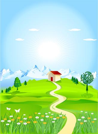 homely: mountain meadows